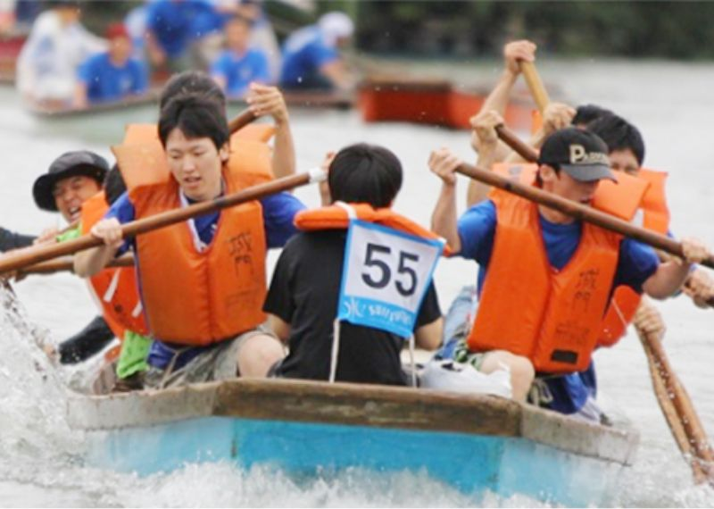 Yanagawa, the Town of Water, Summer Water Festival